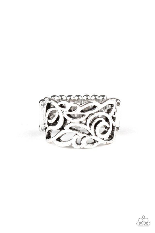 Ivy Leaguer - Silver - Paparazzi Ring Image