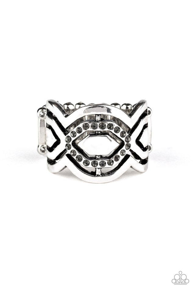 Divinely Deco - Silver - Paparazzi Ring Image