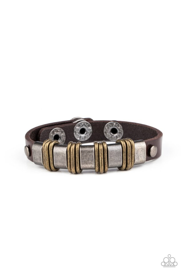 Rural Explorer - Brown - Paparazzi Bracelet Image