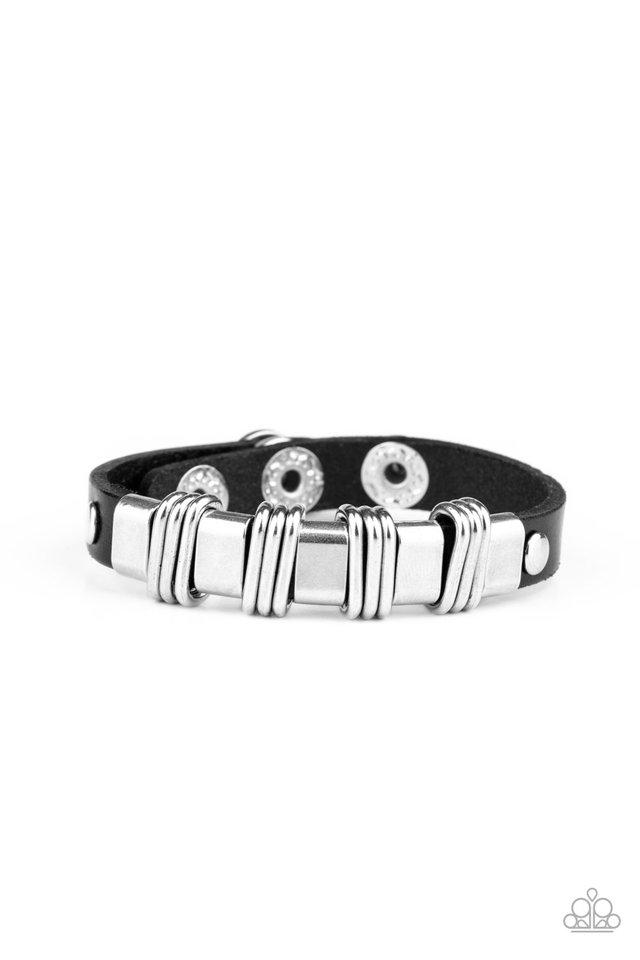 Rural Explorer - Black - Paparazzi Bracelet Image