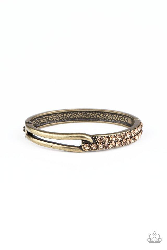 Freeze! - Brass - Paparazzi Bracelet Image