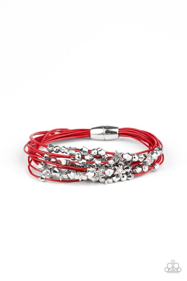 Star-Studded Affair - Red - Paparazzi Bracelet Image