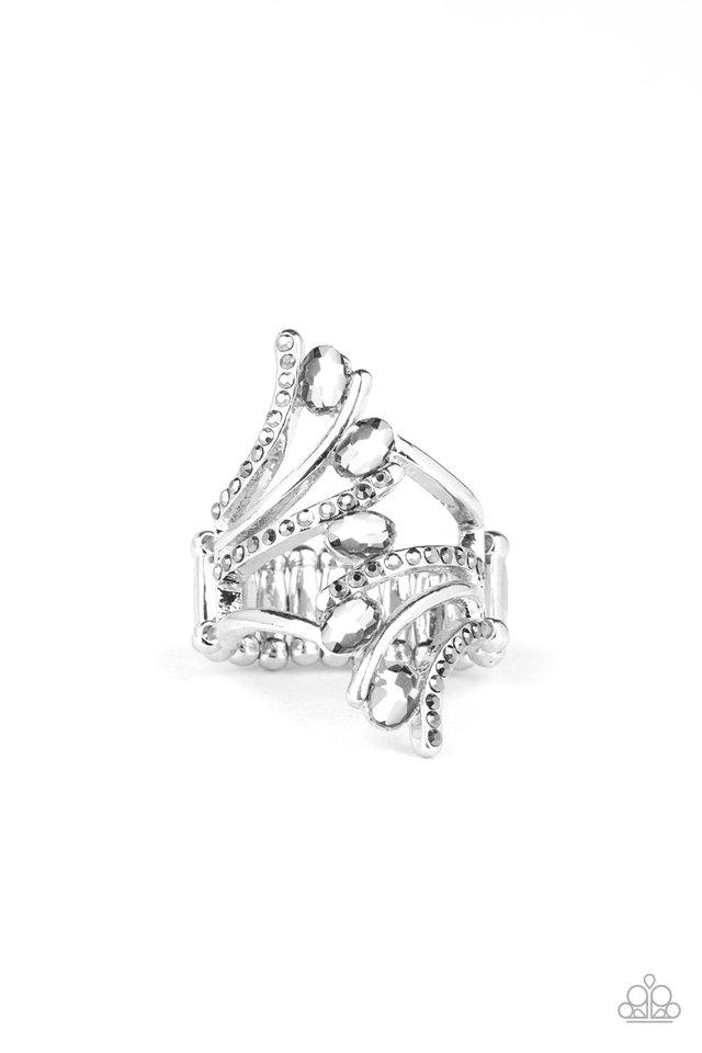 Majestic Marvel - Silver - Paparazzi Ring Image