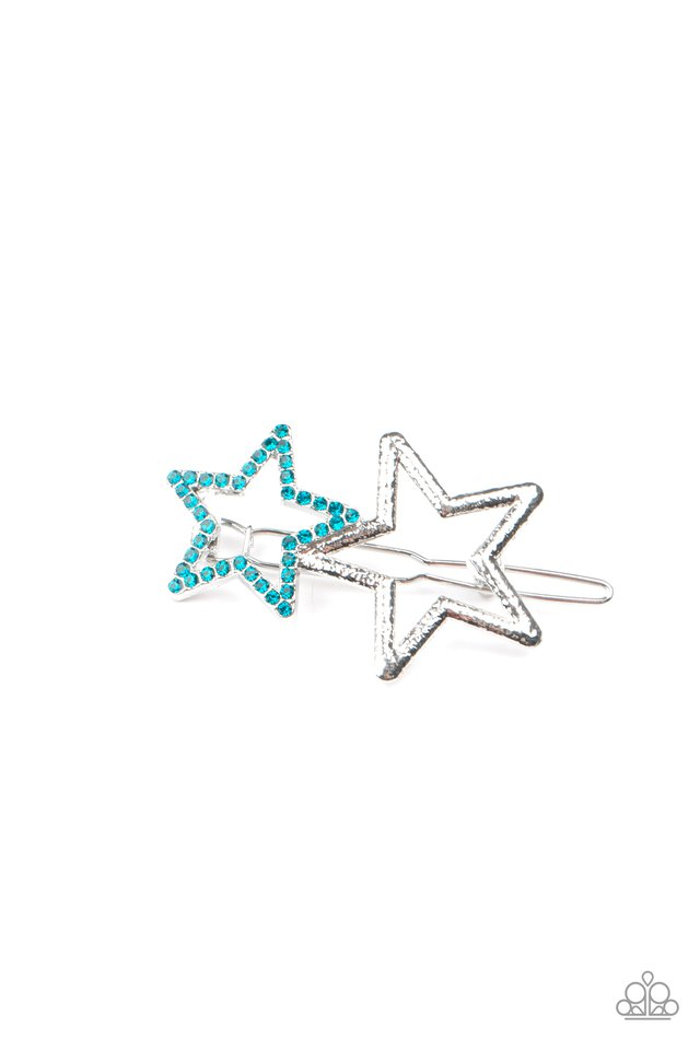Lets Get This Party STAR-ted! - Blue - Paparazzi Hair Accessories Image
