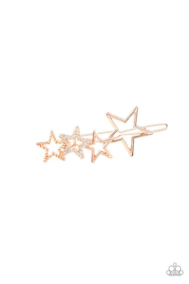 From STAR To Finish - Copper - Paparazzi Hair Accessories Image