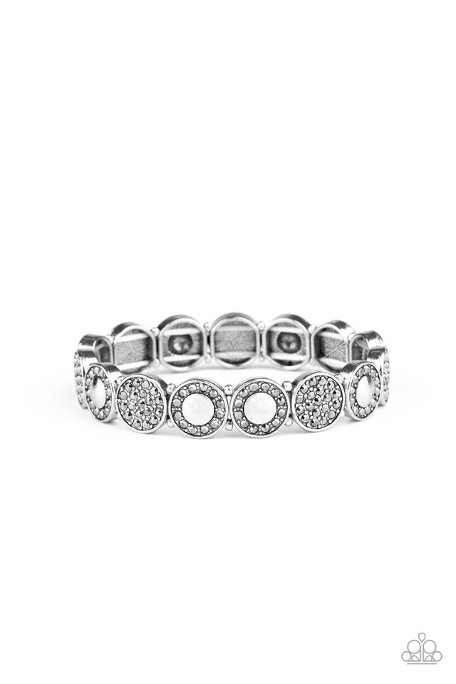 Glamour Garden - Silver - Paparazzi Bracelet Image