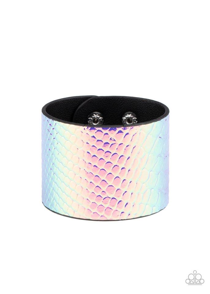 Galactic Galapagos - Pink - Paparazzi Bracelet Image