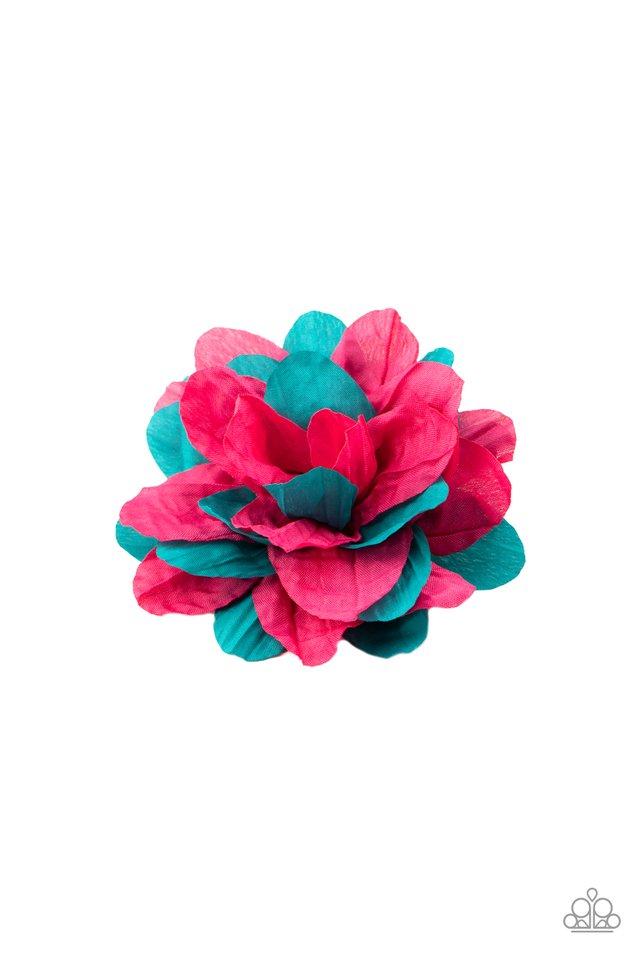 Rainbow Gardens - Pink - Paparazzi Hair Accessories Image