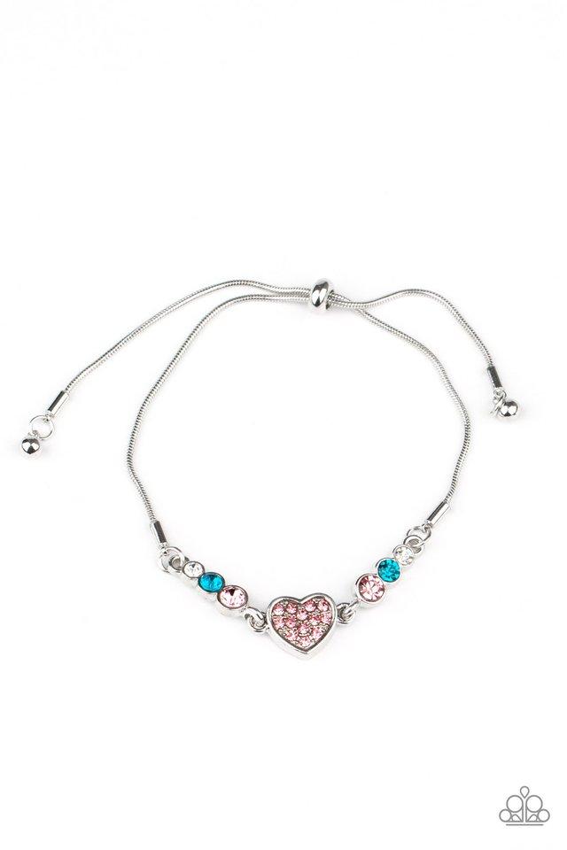Big-Hearted Beam - Multi - Paparazzi Bracelet Image