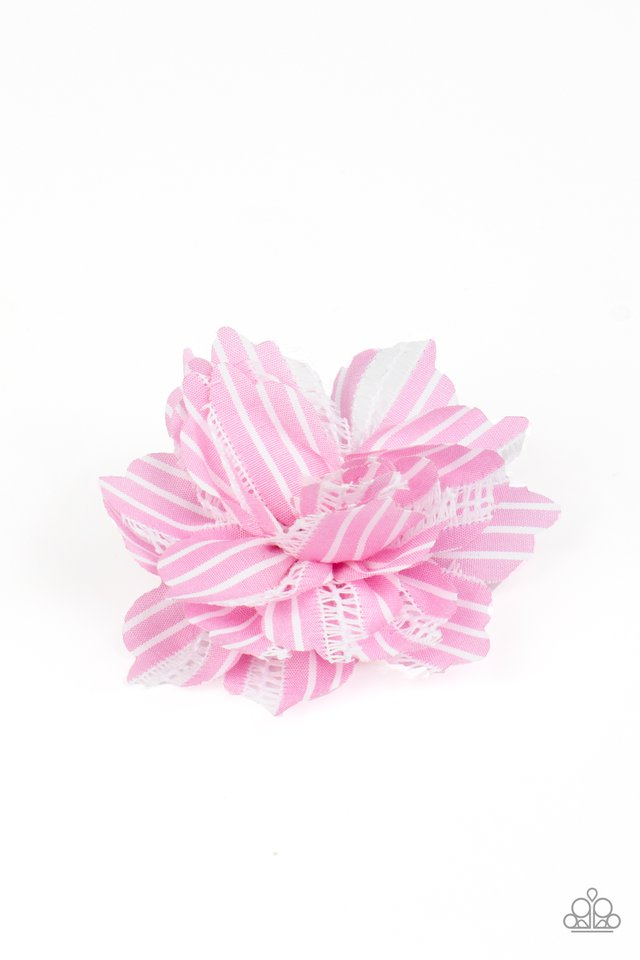 STRIPE For The Picking - Pink - Paparazzi Hair Accessories Image