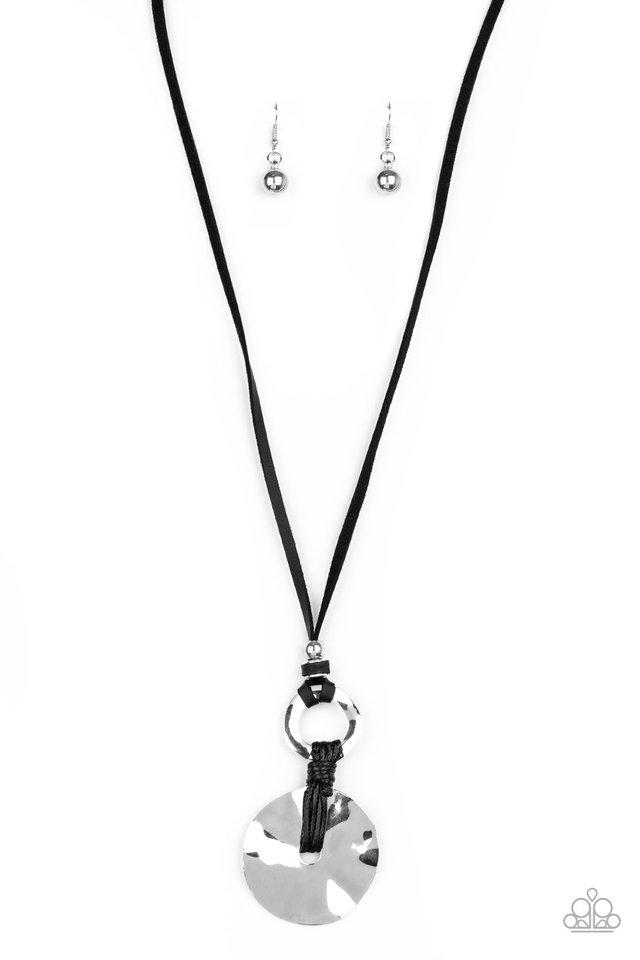 Nautical Nomad - Black - Paparazzi Necklace Image
