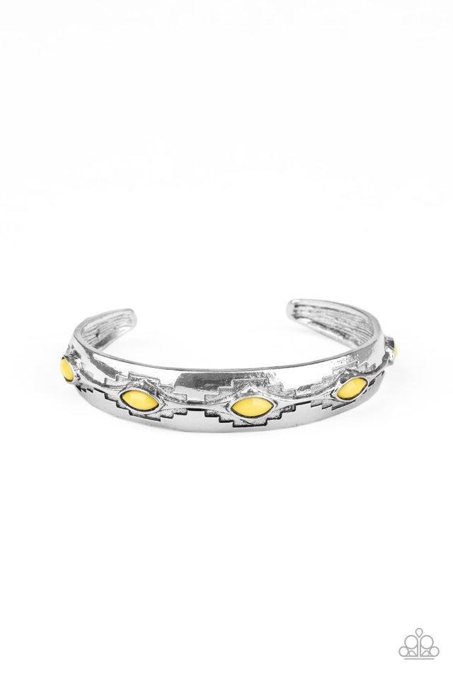 Santa Fe Scene - Yellow - Paparazzi Bracelet Image