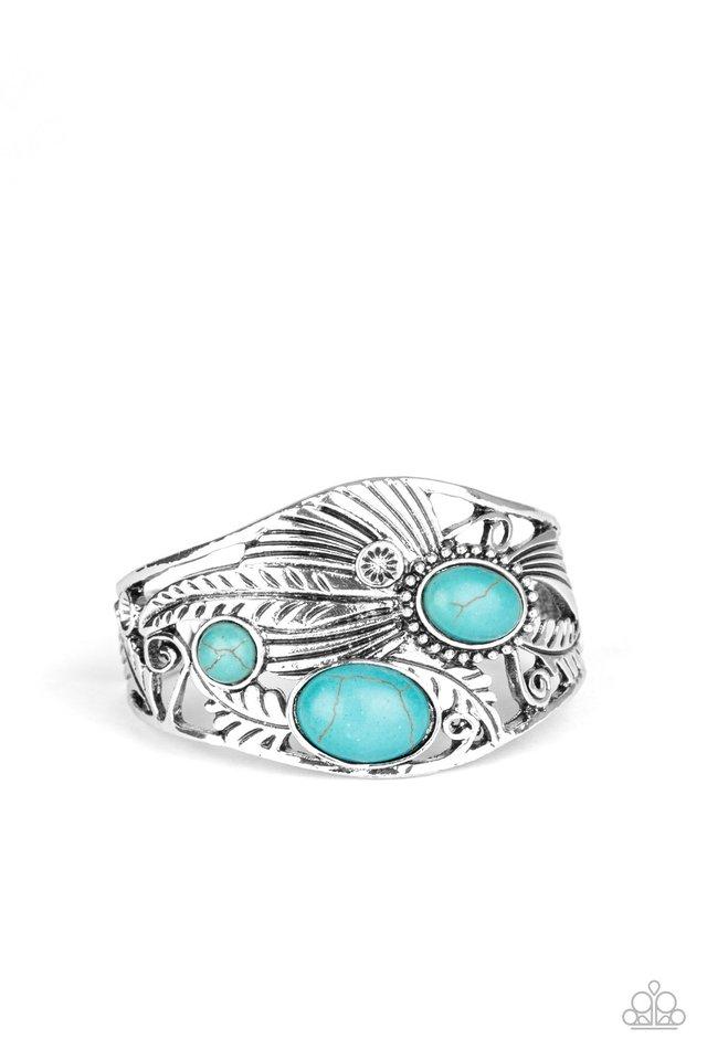 Mojave Moods - Blue - Paparazzi Bracelet Image