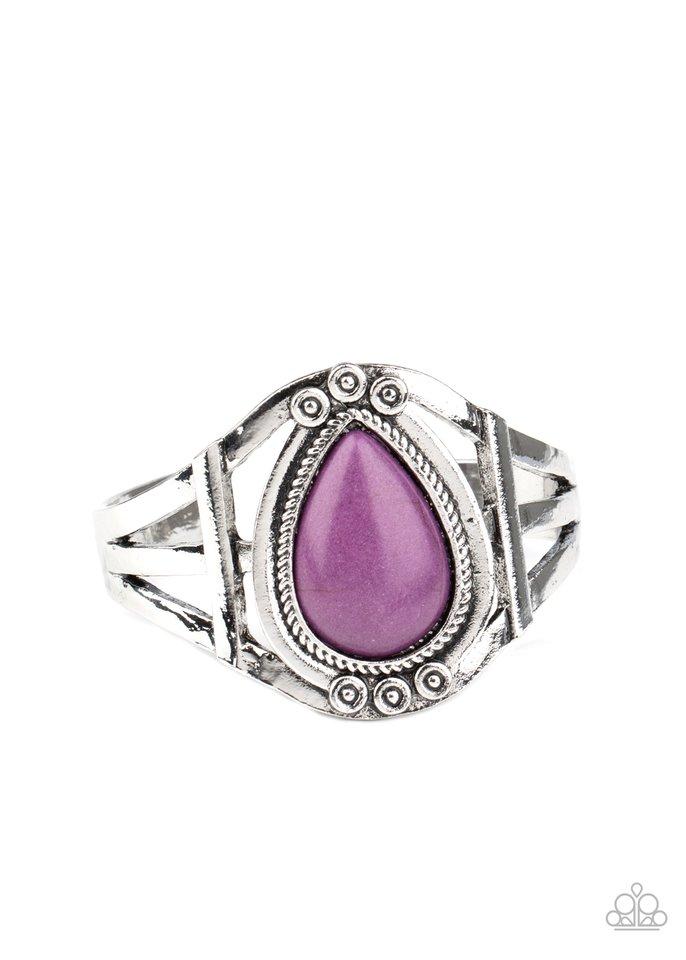 Sage Brush Beauty - Purple - Paparazzi Bracelet Image