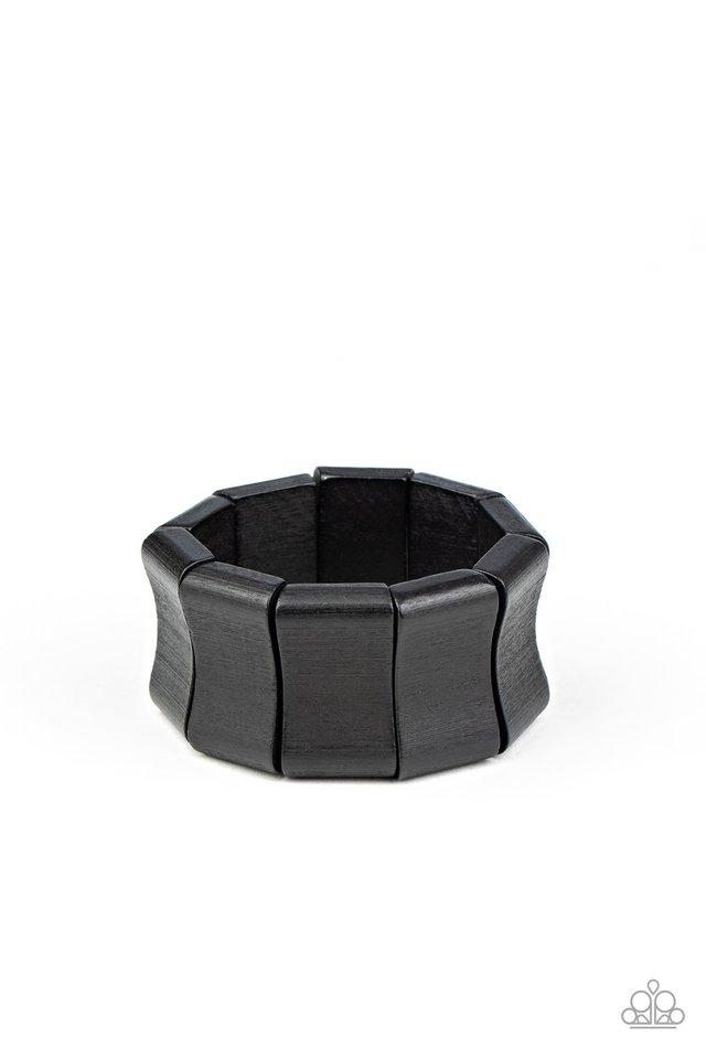 Caribbean Couture - Black - Paparazzi Bracelet Image