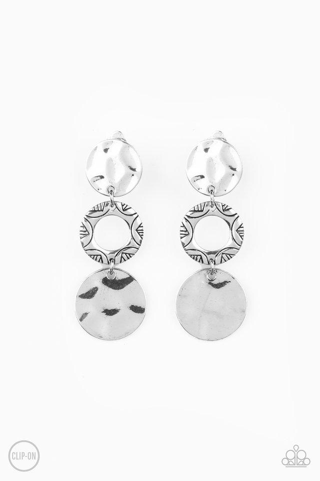 Torrid Trinket - Silver - Paparazzi Earring Image
