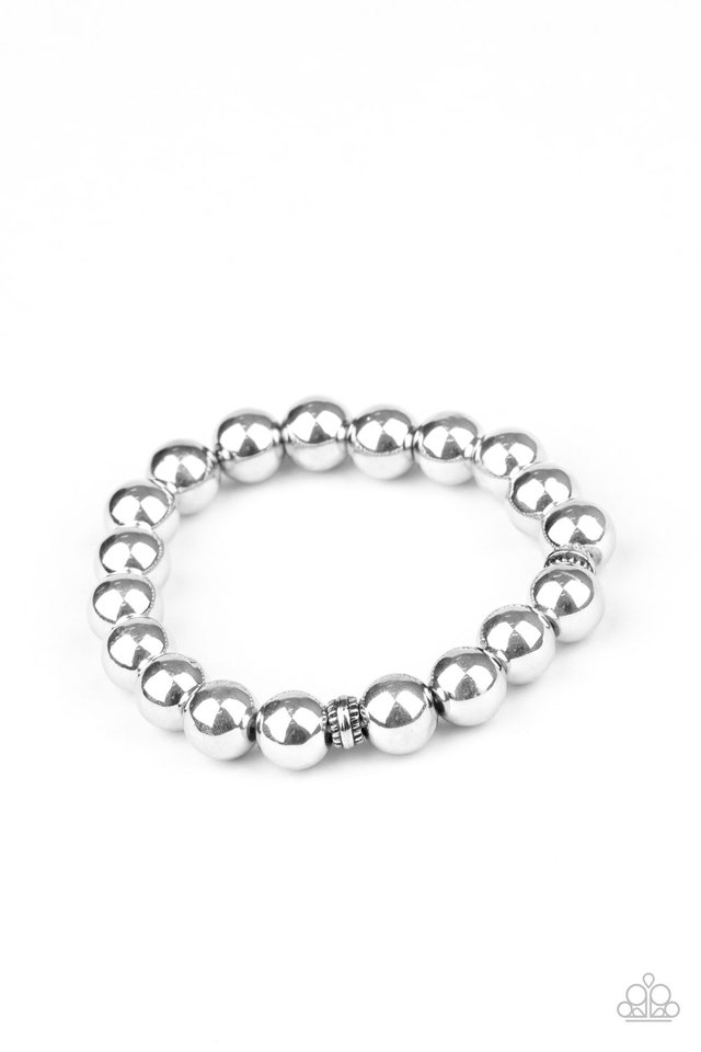 Resilience - Silver - Paparazzi Bracelet Image