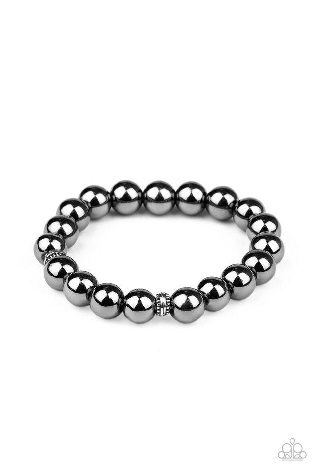 Resilience - Black - Paparazzi Bracelet Image