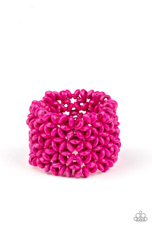 Island Expression - Pink - Paparazzi Bracelet Image