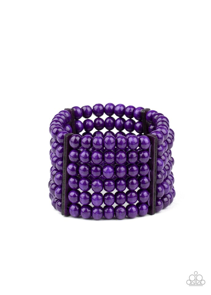 Diving in Maldives - Purple - Paparazzi Bracelet Image