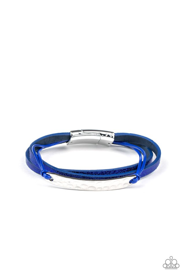 High-Strung Style - Blue - Paparazzi Bracelet Image
