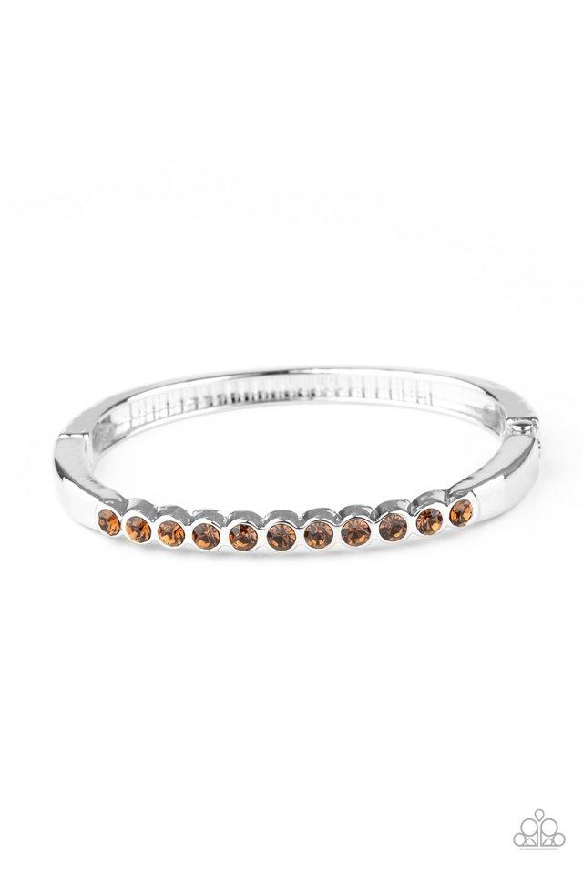 Stellar Beam - Brown - Paparazzi Bracelet Image