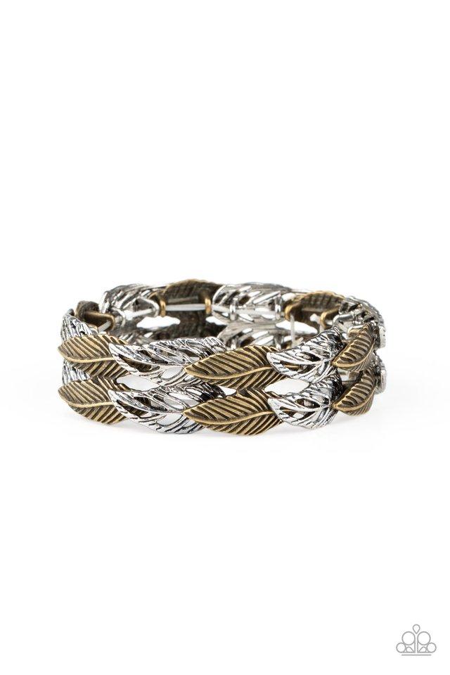 Its Five o FLOCK Somewhere - Multi - Paparazzi Bracelet Image