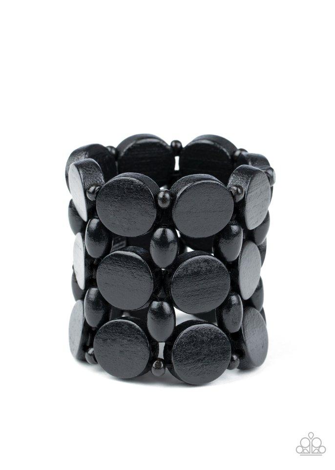 Cruising Coronado - Black - Paparazzi Bracelet Image