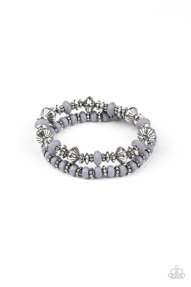 Cactus Quest - Silver - Paparazzi Bracelet Image