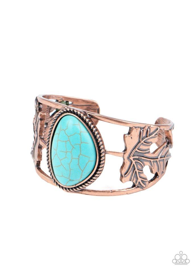 Sahara Seasons - Copper - Paparazzi Bracelet Image