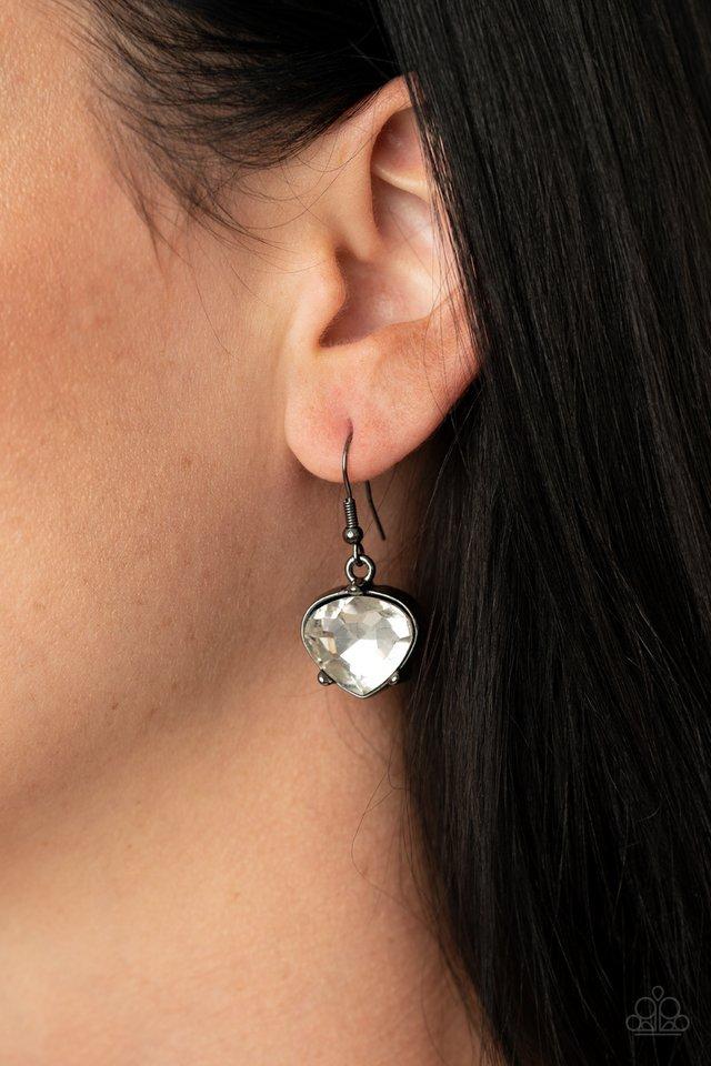 Star Quality Sparkle - Black - Paparazzi Necklace Image