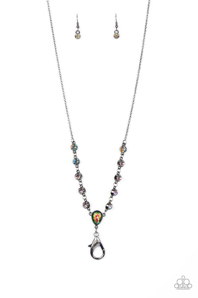 Unfathomable Fierceness - Multi - Paparazzi Necklace Image