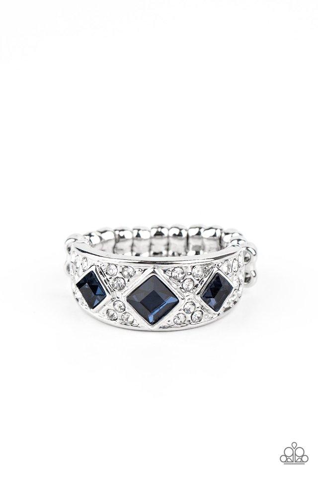 New Age Nouveau - Blue - Paparazzi Ring Image