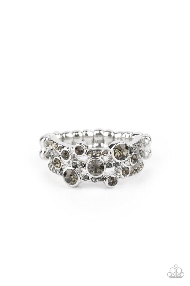 Bubbly Effervescence - Silver - Paparazzi Ring Image