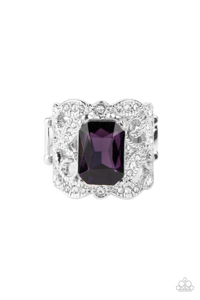 Making GLEAMS Come True - Purple - Paparazzi Ring Image