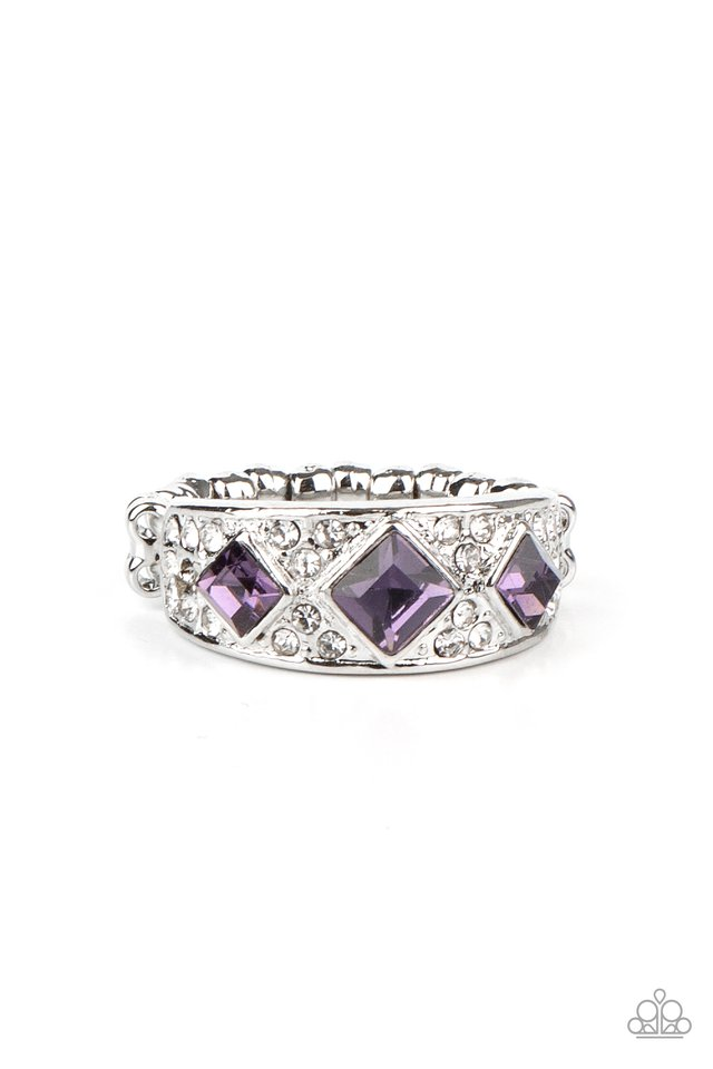 New Age Nouveau - Purple - Paparazzi Ring Image