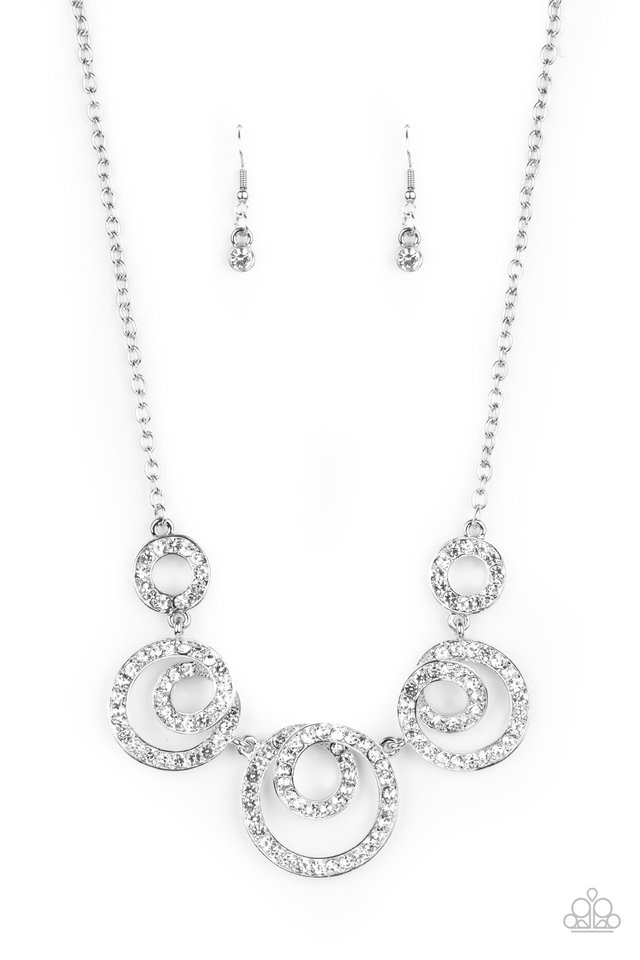 Total Head-Turner - White - Paparazzi Necklace Image