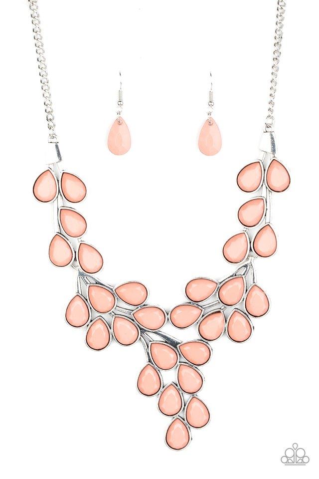 Eden Deity - Pink - Paparazzi Necklace Image