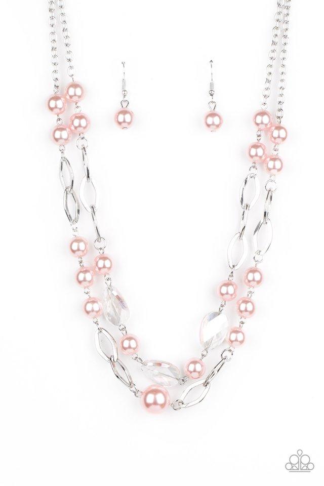 Fluent In Affluence - Pink - Paparazzi Necklace Image