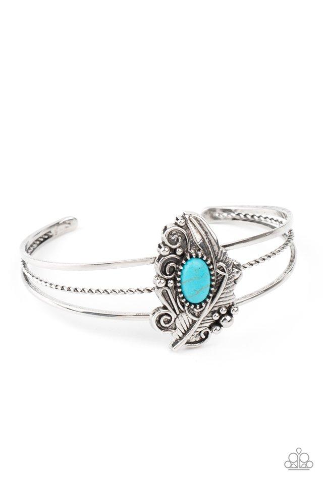 Sahara Solstice - Blue - Paparazzi Bracelet Image