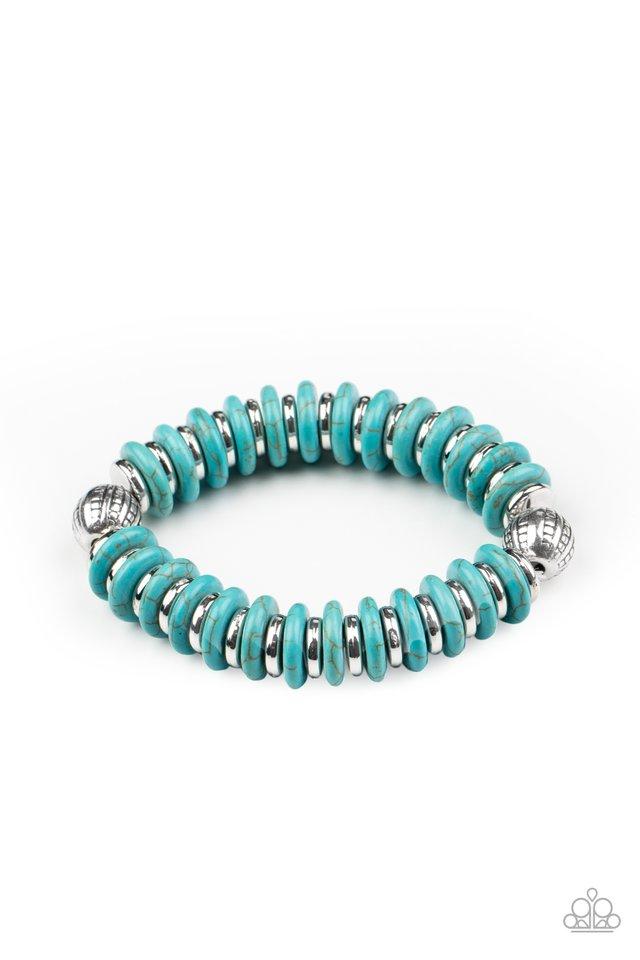 Eco Experience - Blue - Paparazzi Bracelet Image
