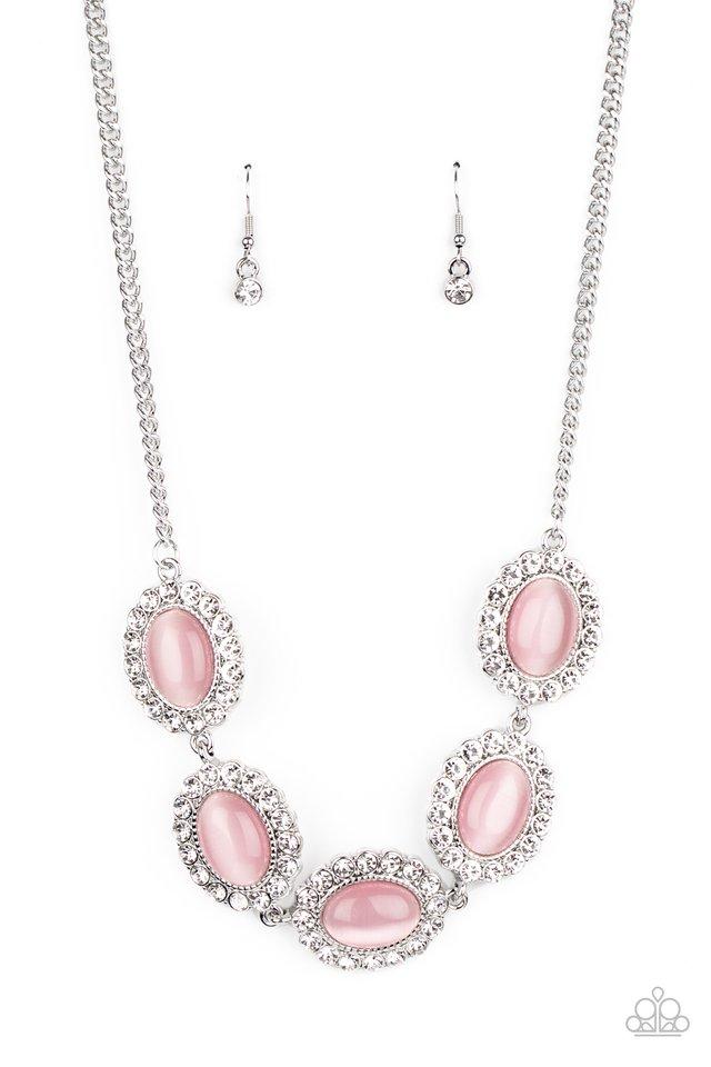 A DIVA-ttitude Adjustment - Pink - Paparazzi Necklace Image