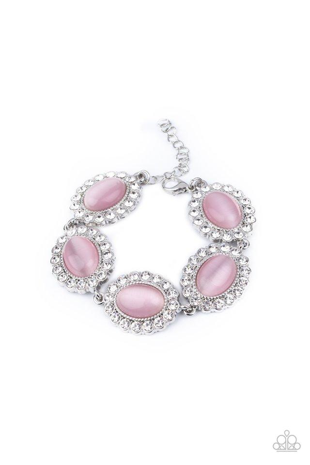 Demurely Diva - Pink - Paparazzi Bracelet Image