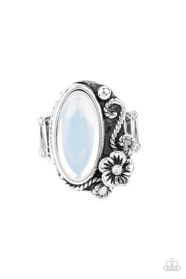 Any DAISY Now - White - Paparazzi Ring Image