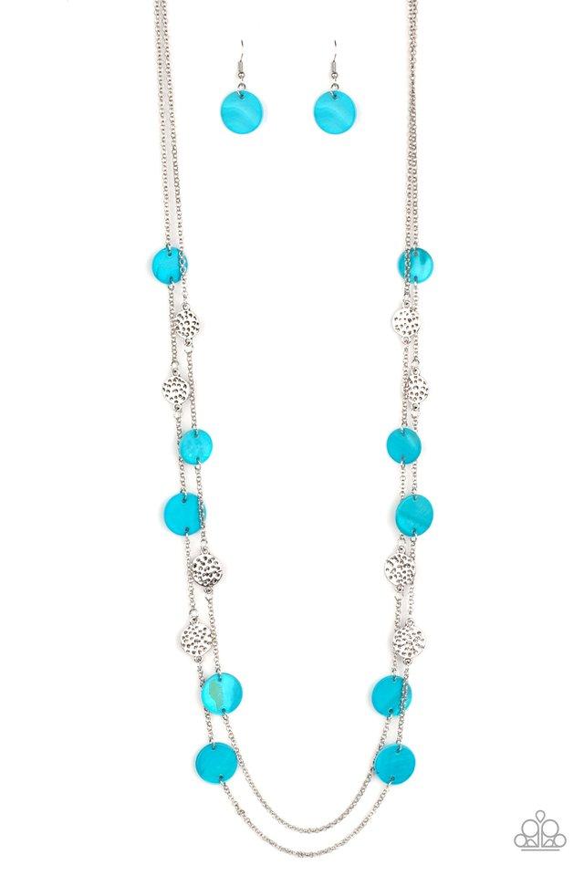 Ocean Soul - Blue - Paparazzi Necklace Image