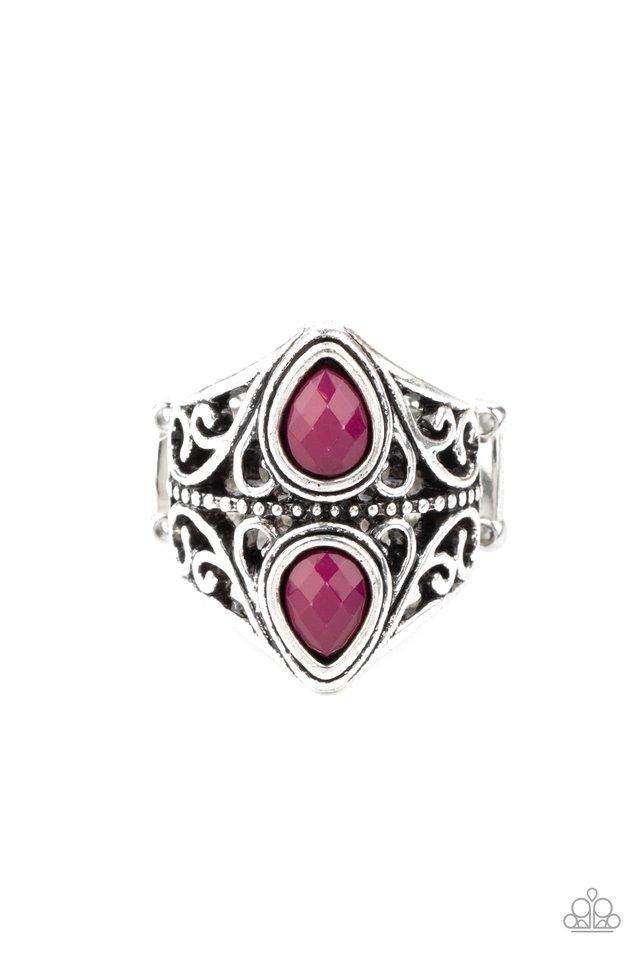 Rural Revel - Purple - Paparazzi Ring Image