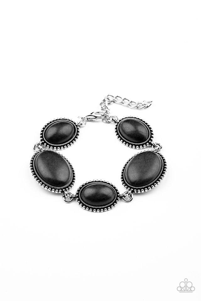 River View - Black - Paparazzi Bracelet Image