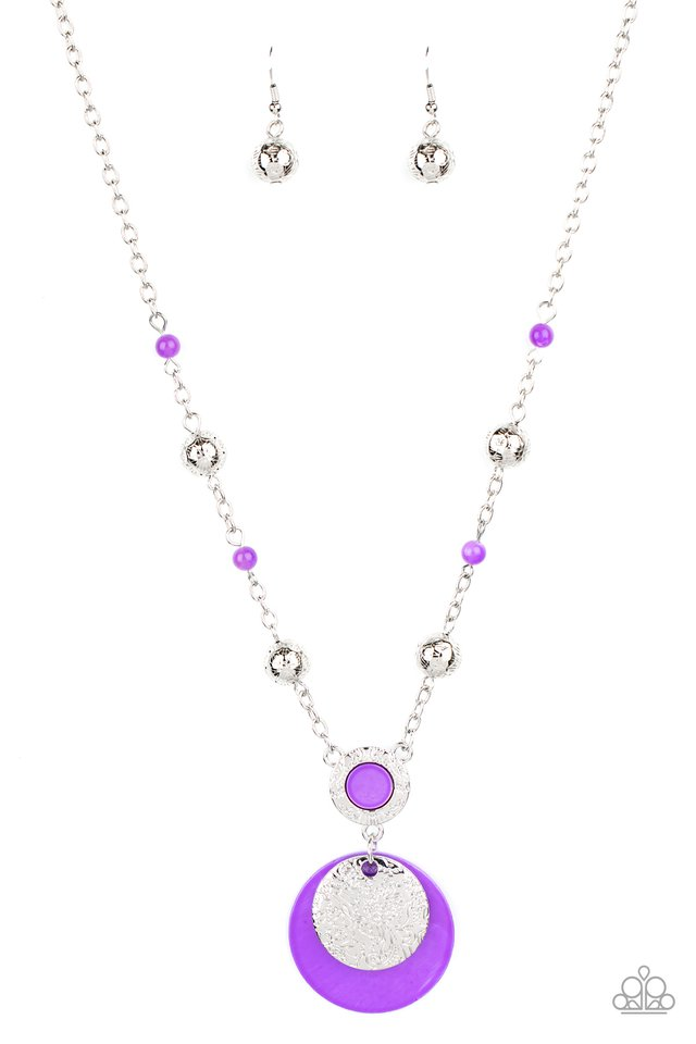 SEA The Sights - Purple - Paparazzi Necklace Image