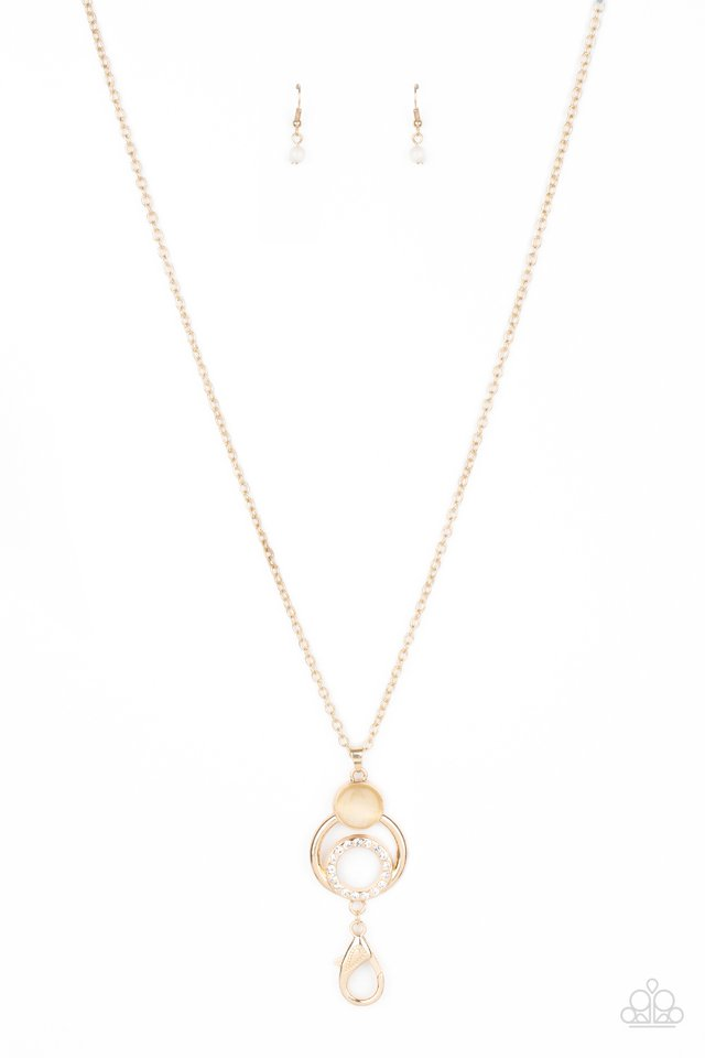 Perfect Prosperity - Gold - Paparazzi Necklace Image