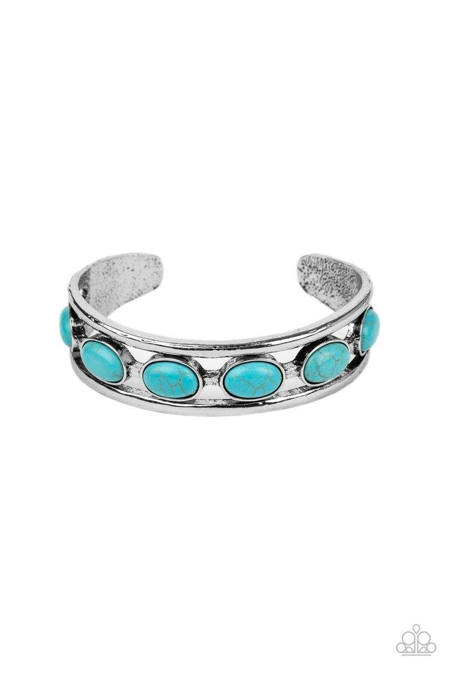 River Rock Canyons - Blue - Paparazzi Bracelet Image